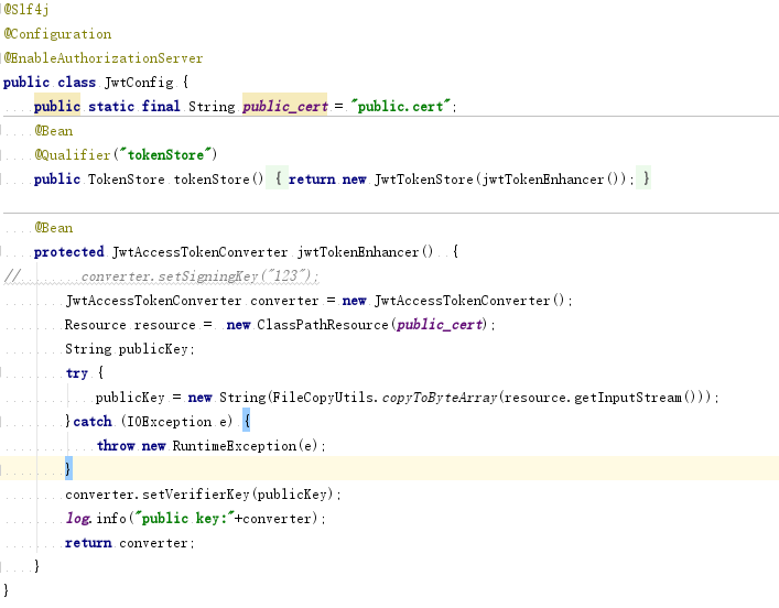 Spring Cloud Construction from Zero: Authentication Center