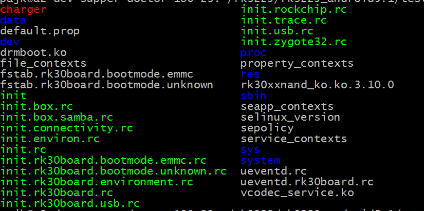 Decompress boot img of RK3288 and modify init rc to add boot
