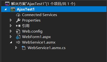 JavaScript script calls Web Service method in ASP. Net 4.0