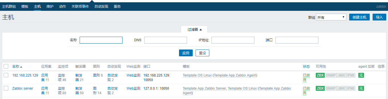 Customized monitoring of zabbix