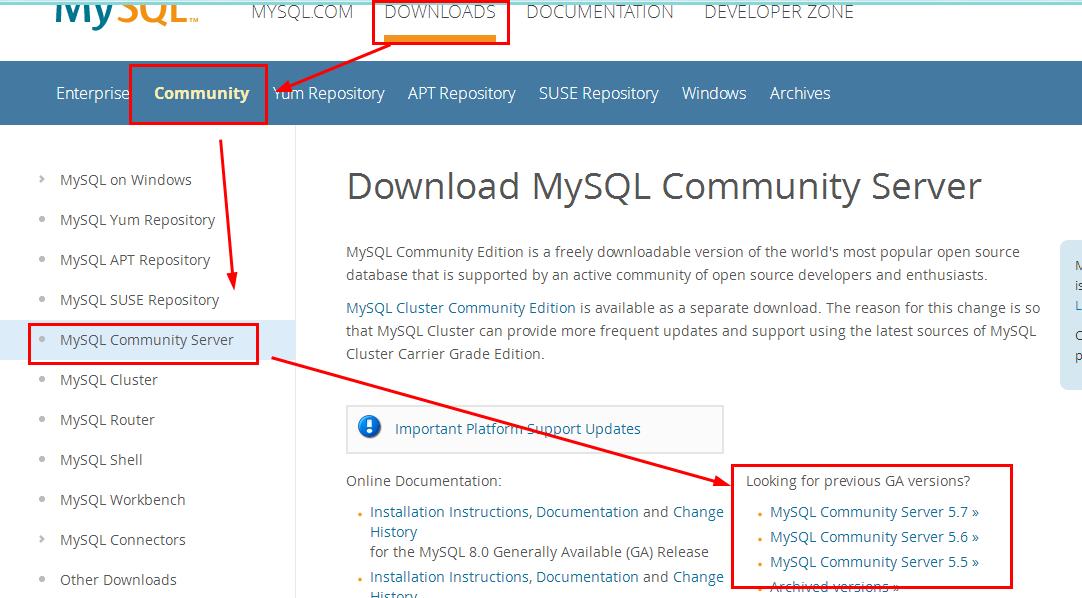 Mysql] MySQL Summary (1) - Mysql Installation (Linux)