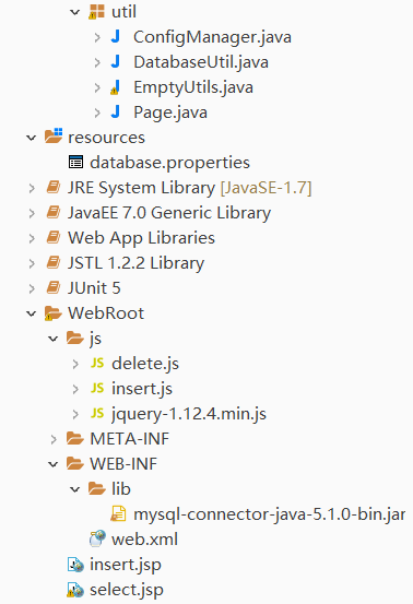 MySQL+Service+Servlet+Jsp Implementing Table Table Paging Display Data