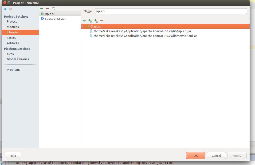 Java for Struts 2 Intellij Idea Development Example