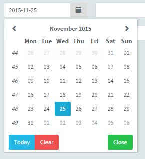 UI Component ui-Bootstrap Sharing of Angular Js (IV) - Datepicker Popup