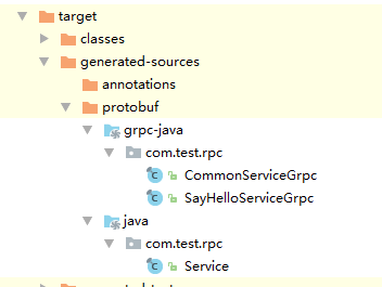 Application process record of grpc in java