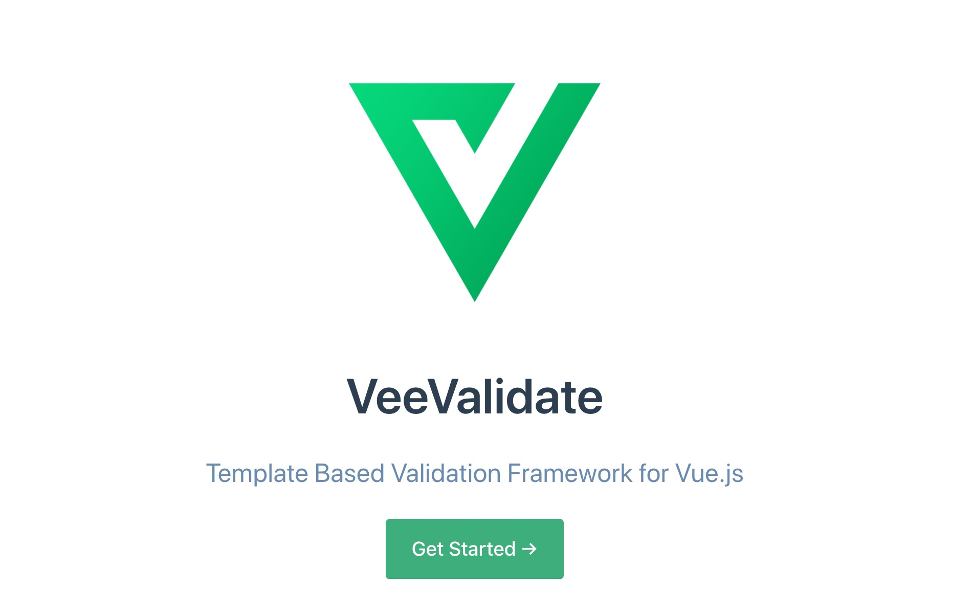 Use Vee validate form validation in Vue js + Nuxt js project