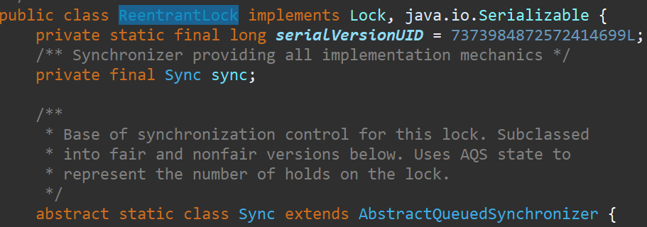 Implement a synchronizer based on AQS