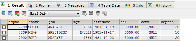 10-MySQL Data Query Application (Actual Warfare) (I)