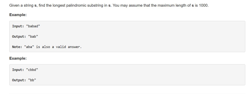 Javascript Brush LeetCode Series] 5. Longest Palindromic Substring Problem