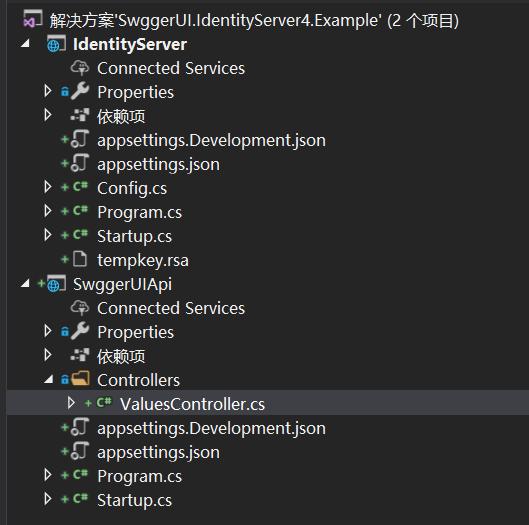 ASP NET Core Swagger Access Using Identity Server 4 WebApi