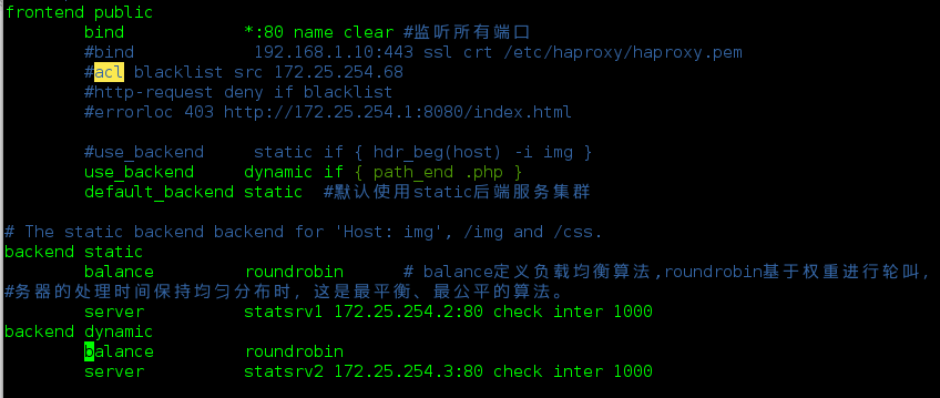 High Availability Configuration of Haproxy