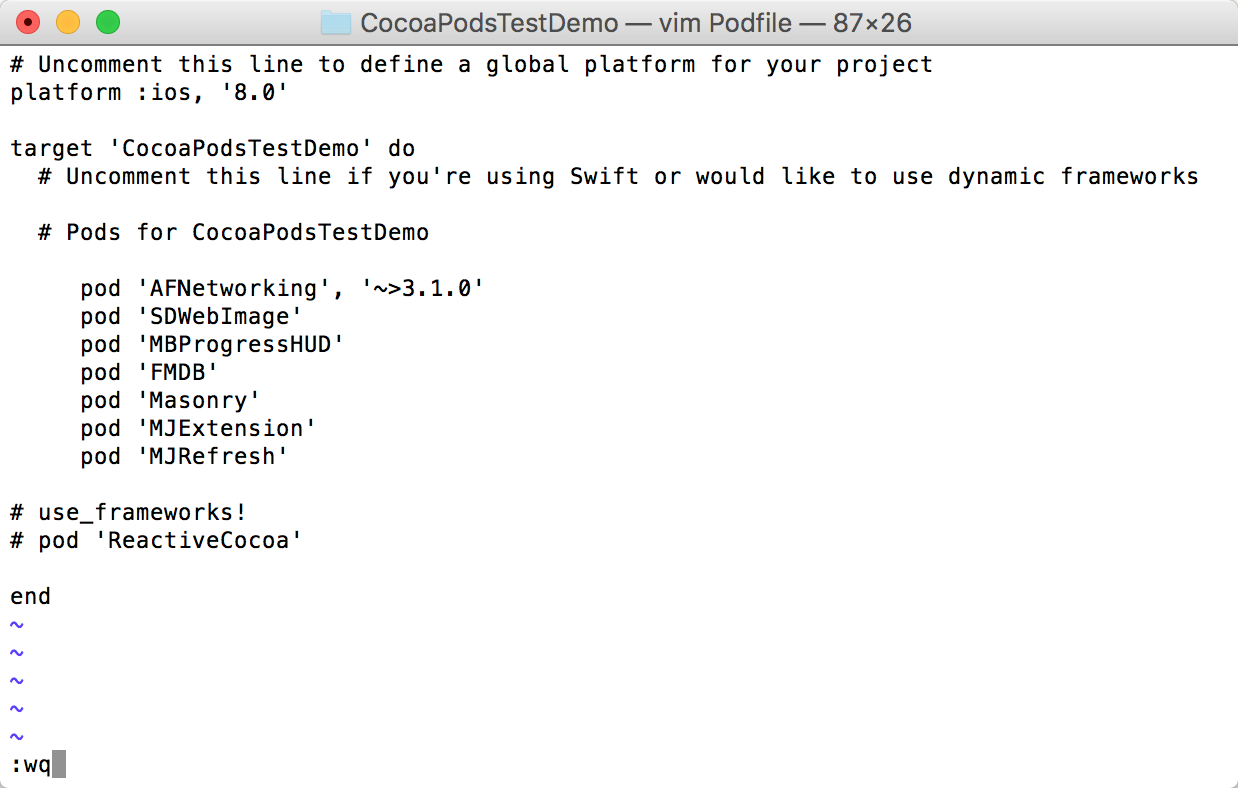 iOS Tools] rvm, Ruby Environment and CocoaPods Installation