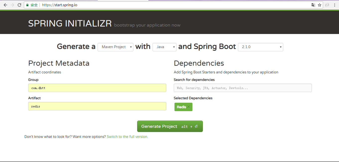 Spring boot integrates the use of Redis-RedisTemplate to
